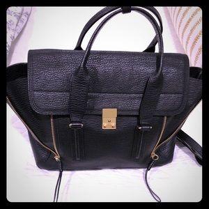LIKE NEW Philip Lim Pashli LARGE leather satchel